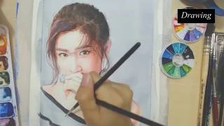 Draw Charmaine Sheh See Man | Story of Yanxi Palace