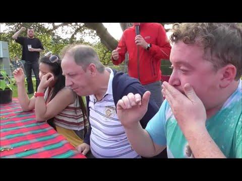 Chilli Eating Contest   Scotland Chili Festival Scone Palace   Sunday 21st Sept 2014
