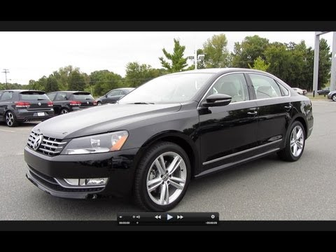 2012 Volkswagen Passat SEL TDI Start Up. Engine. and In Depth Tour