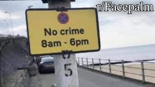 r/Facepalm | no crime please