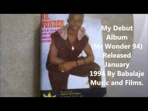 (mr Wonder 1994) By King Sulaiman Alao Adekunle Malaika Alayeluwa video
