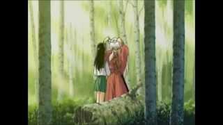 Inuyasha e Kagome momenti romantici parte 2