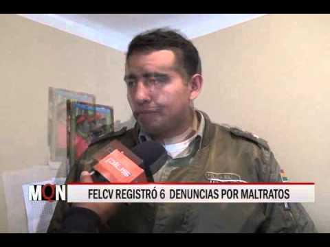 18/12/14 12:28 FELCV REGISTRÓ 6  DENUNCIAS POR MALTRATOS