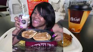 MCDONALDS BREAKFAST | FAST FOOD | HOTCAKES | MUKBANG
