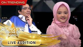 Arsy Tiba Tiba Mau Duduk Ditempat Expert   Live Audition    Rising Star Indonesia Dangdut