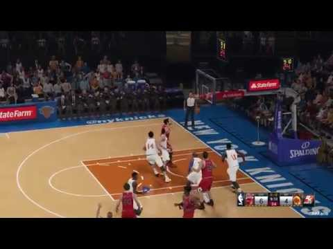 NBA 2K15 Chicago Bulls Vs New York Knicks 29-10-2014