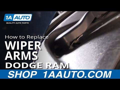 How To Install Repair Replace Broken Wiper Arm Dodge Ram 2002-04 1AAuto.com