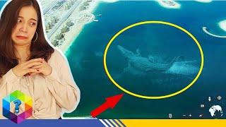 7 Thủy Quái Khổng Lồ Bất Ngờ được Google Earth phát hiện