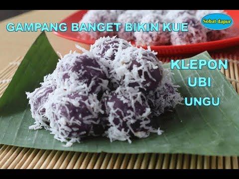 Klepon ubi ungu gampang banget bikinnya
