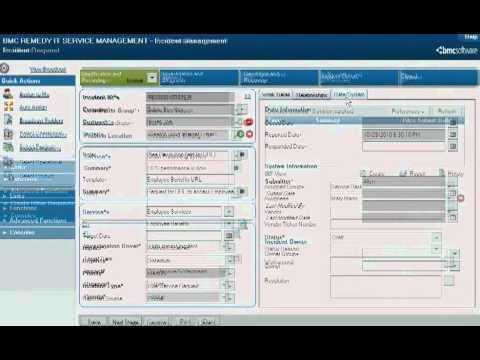Bmc Remedy Itsm Configuring Service Desk Youtube
