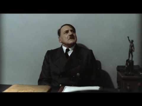 Hitler is informed his pizza will arrive late
