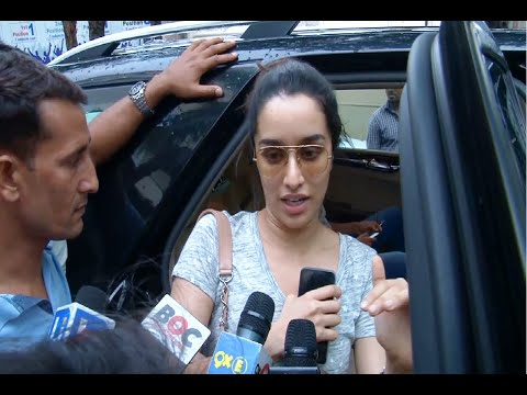 Shraddha Kapoor at Juhu PVR Mumbai after watching the movie DIL DHADAKNE DO.