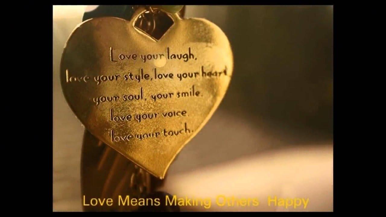 Beautiful love sayings
