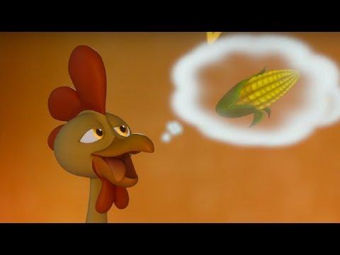 Макс Грин и инопланетяне –Гонка за петухом  -  серия 48 - Мультфильм для детей – НЛО