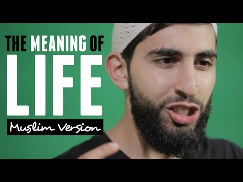 The Meaning Of Life | Muslim Spoken Word | Hd video
