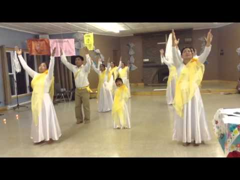 Lord i offer my life (yellow) interpretative dance
