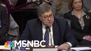 William Barr: 'On My Watch, Bob Will Be Allowed To Finish His Work' | MSNBC