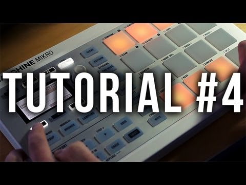 Maschine Mikro Tutorial #4: Basic Effects and Automation