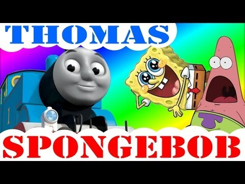 Spongebob Squarepants Intro Thomas The Train Lyrics video