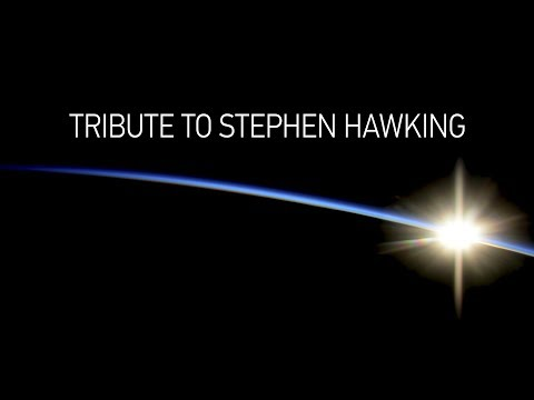 'I had always dreamed of spaceflight': Tribute to Stephen Hawking (360 Video)