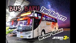 DRIVER GALAU ! BUS BARU KOK ??? sensasi Bus EKA Terbaru Jetbus 3 Hino RN-285