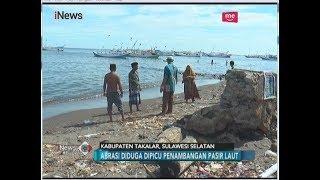 Warga Pantai Galesong Protes Tambang Pasir yang Sebabkan Abrasi - iNews Pagi 25/05
