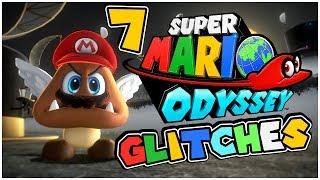 7 Super Mario Odyssey GLITCHES! - Tutorial