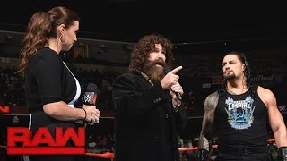 Roman Reigns verlangt Vergeltung von Rusev: Raw, 19. September 2016