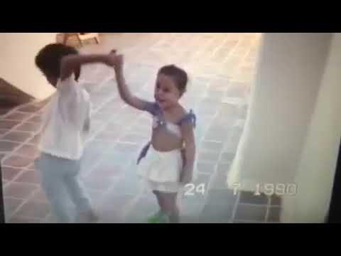 Merche y Antoñito bailando la lambada 1.parte Año 1990