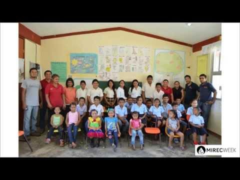 MIREC Week brings solar energy to a rural school in Mexico