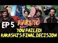Youtube Thumbnail Naruto - Episode 5 - You Failed! Kakashi's Final Decision - Group Reaction