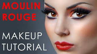 Make-Up Atelier Paris_ Make Up Tutorial - Moulin Rouge Look