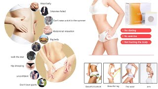 New Slim Patch Navel Sticker Slimming Fat Burning Cellulite Fat Burner For Losing Weight