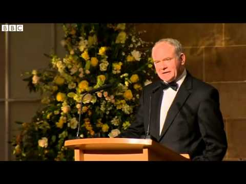 McGuinness slept in Queen's bed at Hillsborough Castle