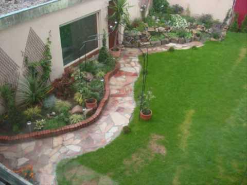 Garten Vorher Nachher