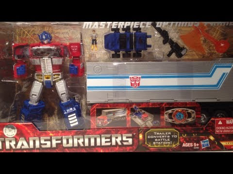 How To Open TRU Exclusive Hasbro MP-10 Masterpiece Optimus Prime