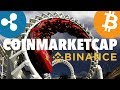 Binance Order Issues - Insufficient Balance?   Coinmarketcap Prices Going Down - Explained