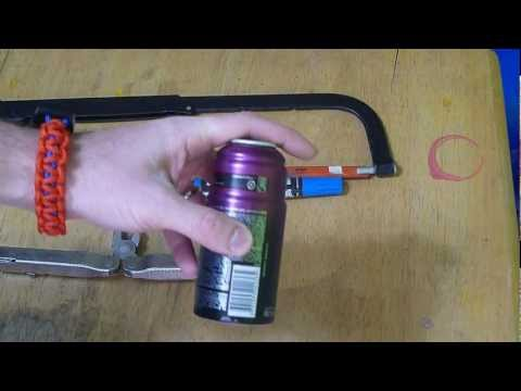 DIY: Axe - Body Spray alcohol stove