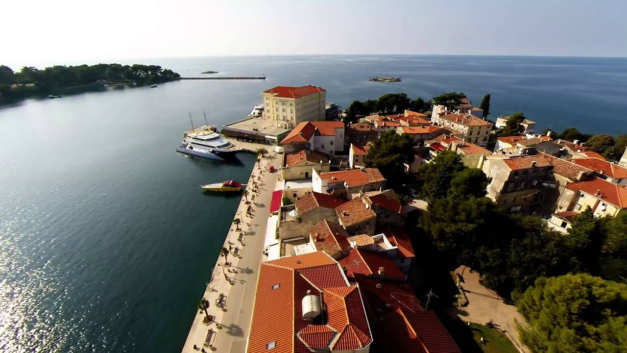 Porec Croatia  city pictures gallery : Porec, Croatia YouTube