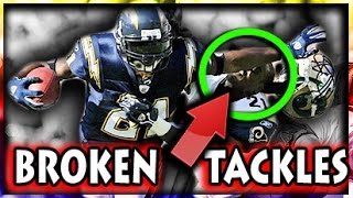 Best Broken Tackles in NFL History
