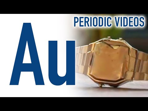 Gold & Casio Watch - Periodic Table of Videos