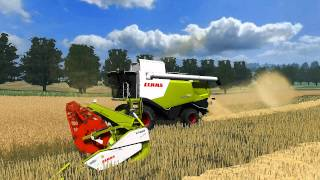 Landwirtschafts, farming, traktor, tractor, zetor, Simulator, 2011, ls11, ls 11, ls 2011, landwirtschafts simulator 2011, farming simulator 2011, Claas, Lexion, 750, lexion 750, hd, high, definition, video, 1280, 720, mod, mods, map, game, gaming