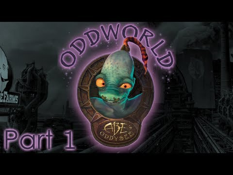 Oddworld - Abe's Oddysee Walkthrough Прохождение - Part 1