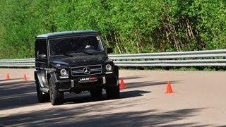 Mercedes-Beng G 63 AMG vs Porsche Cayenne Turbo S