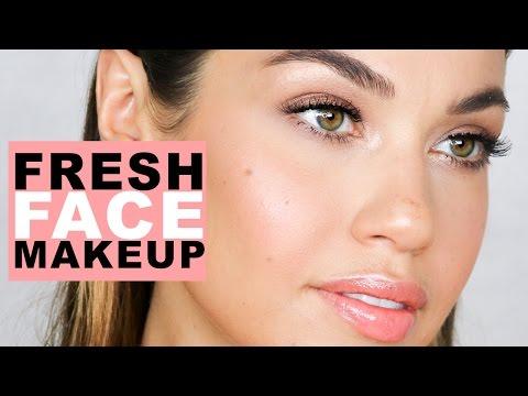 Fresh Face Natural Makeup | Flawless Skin Makeup Tutorial | Eman thumbnail