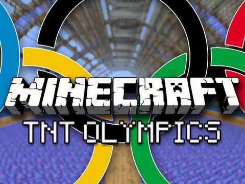 Minecraft  Tnt Olympics W  Captainsparklez &amp  Friends Part 3   The Final Four