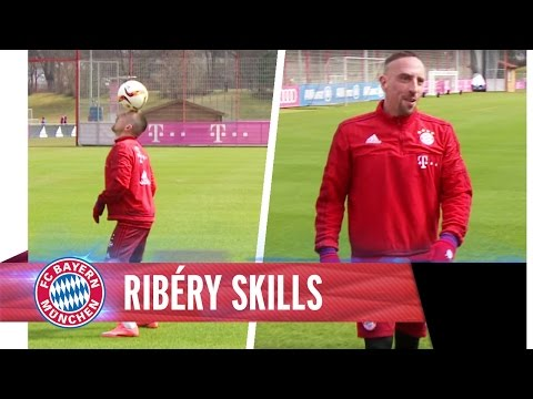 Ribéry-Skills im Training