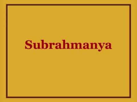 Subrahmanya Kavacham video