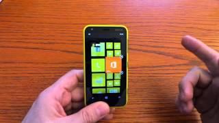 Nokia Lumia 620 videopresentazione