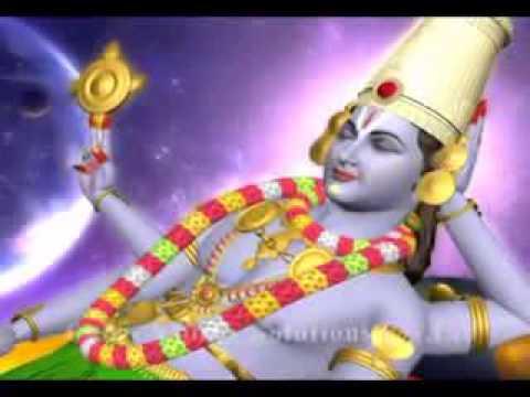 Srinivasa Govinda   3D Animation God Songs  Hare Krishna Vishnu...